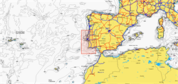 Карты Navionics Small 5G615S2 PORTUGAL SOUTH - фото 10039