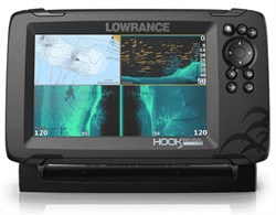 Эхолот Lowrance Hook Reveal 7 TripleShot - фото 12010
