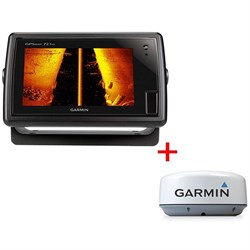 Эхолот Комплект Garmin GPSMAP 721 + GMR18HD - фото 4469