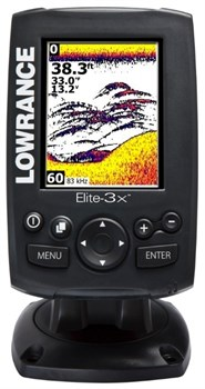 Эхолот Lowrance Elite-3x All-Season Fishfinder Pack with 83/200 - фото 4716
