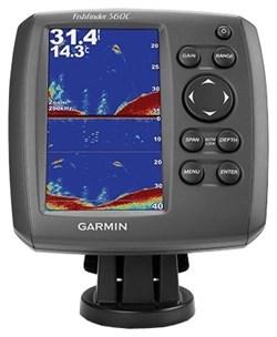 Эхолот Garmin Fishfinder 560C w/o XdcrWW - фото 4787