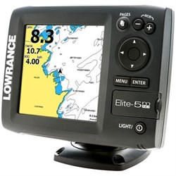 Эхолот Lowrance Elite 5m HD - фото 4816
