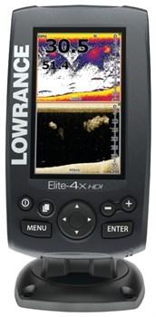 Эхолот Lowrance Elite-4x CHIRP 83/200 455/800 - фото 4890