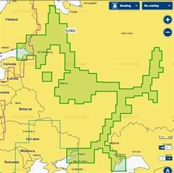 Карта Navionics+ 52XG ЕВРОПЕЙСКАЯ ЧАСТЬ РОССИИ - фото 5094