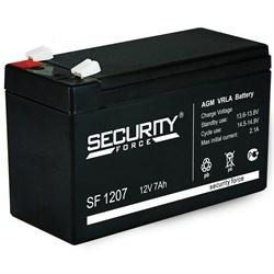 АКБ Security Force 7,2Ач/12В - фото 5220