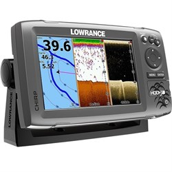 Эхолот Lowrance HOOK-7 Mid/High/DownScan™ - фото 5229