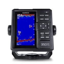 Эхолот Garmin Fishfinder 350 Plus с трансдьюсером 77/200кГц - фото 5758