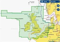 Карта Navionics+ 28XG Великобритания, Ирландия и Голландия - фото 5774