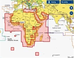 Карта Navionics+ 30XG Африка и Ближний Восток - фото 5775