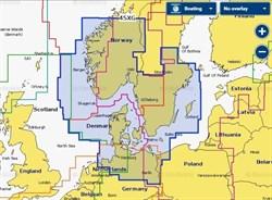 Карта Navionics+ 45XG Скагеррак и Каттегат - фото 5779