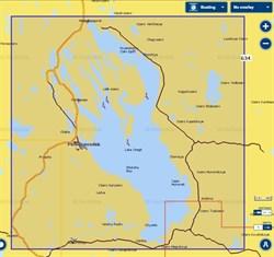 Карты Navionics Small 5G634S2 Онежское озеро - фото 5799
