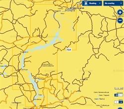 Карты Navionics Small 5G764S Красноярское водохранилище - фото 5803