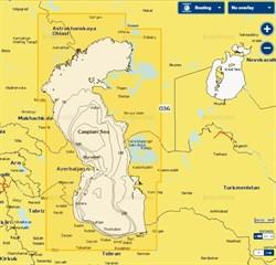 Карты Navionics Small 5G036S Каспийское море - фото 5806