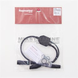 Raymarine Y-Cable (25 pin to 25 & 8 pin) to attach a RealVision 3D (RV-xxx) Transducer & an Airmar (CP370 style connector) transducer toAXIOM RV - фото 9654