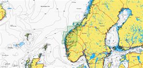 Карты Navionics Small 5G835S FROYA-SOGNEFJORDEN