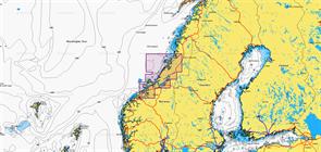 Карты Navionics Small 5G836S TOSENFJORDEN-KRISTIANSUND