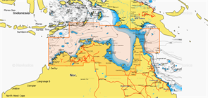 Карты Navionics Small 8G166S NOTHERN AUSTRALIA