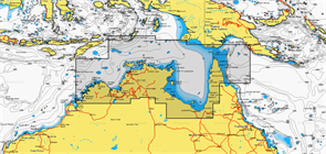 Карты Navionics Small 8G211S NORTHERN TERRITORY