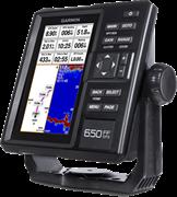 FISHFINDER 650 GPS с трансдьюсером GT20-TM