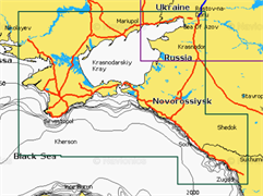 Карты Navionics Small 5G632S2 Азовское море
