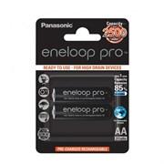Аккумулятор PANASONIC Eneloop Pro AA 2450 2BP (BK-3HCDE/2BE)