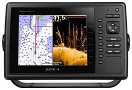 Эхолот Комплект Garmin GPSMAP 820xs 8 с DV трансдьюсер + BlueChart G2 Russia