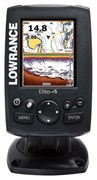 Эхолот Lowrance Elite-4 CHIRP (83/200 455/800)
