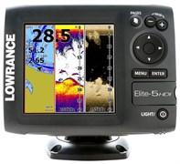 Эхолот Lowrance Elite 5 HDI (83/200+455/800 кГц)