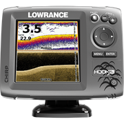 Эхолот Lowrance HOOK-5x Mid/High/DownScan™