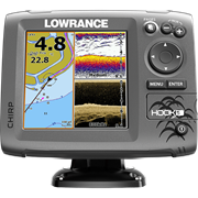 Эхолот Lowrance HOOK-5 Mid/High/DownScan™