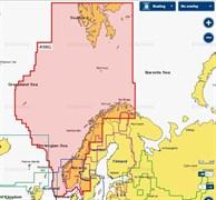 Карта Navionics+ 49XG Норвегия