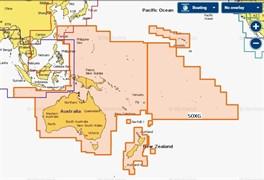 Карта Navionics+ 50XG Австралия, Новая Зеландия