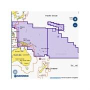 Карта Navionics+ 34XG Тихий океан
