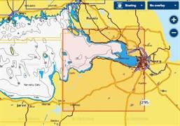 Карты Navionics Small 5G295S Река Нева, Невская губа