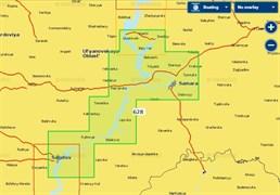 Карты Navionics Small 5G628S2 Ульяновск - Саратов
