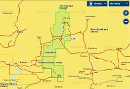 Карты Navionics Small 5G636S2 Река Белая и верхняя Кама