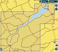 Карты Navionics Small 5G763S Новосибирское водохранилище