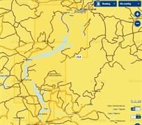 Карты Navionics Small 5G764S Красноярское водохранилище