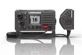 Lowrance VHF MARINE RADIO,DSC,LINK-6