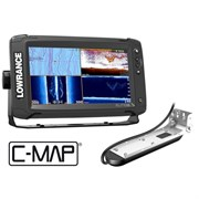 Эхолот Lowrance Elite-9Ti Mid/High/TotalScan™ 000-14519-001