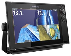 SIMRAD NSS12 evo3 with world basemap