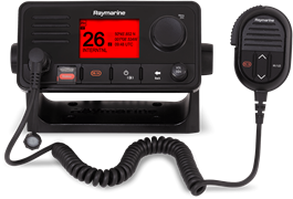Raymarine Ray73 VHF Radio (optional 2nd handset) with Integrated GPS and AIS receiver
