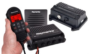 Raymarine Ray 91 VHF Black Box with AIS Rx (inc wired handset, passive speaker and cable)