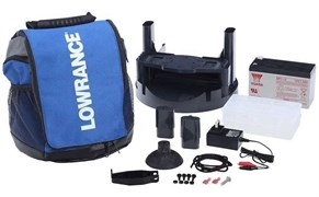 "Lowrance UNIVERSAL PORTABLE PACK 5"" AND UNDER EU PLUG"