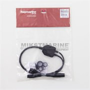 Raymarine Y-Cable (25 pin to 9 & 7 pin) to attach a DownVision (CPT-1xx)Transducer & an Airmar (direct connect to ax7/eSx7 MFD) transducertoAXIOM RV