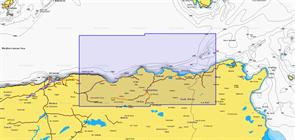 Карты Navionics Small 5G199S BEJAIA - TABARKA