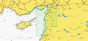 Карты Navionics Small 5G221S YUMURTALIK-BEYROUTH
