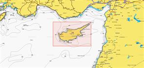 Карты Navionics Small 5G515S2 CYPRUS