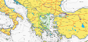 Карты Navionics Small 5G522S2 GREECE NORTH EAST