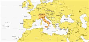 Карты Navionics Small 5G539S2 ITALY LAKES&RIVER PO